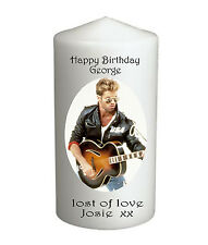 George Michael Candle, Extra Large, Can be Personalised #1