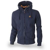 TS Nordic Fighter Men's Athletic Hooded Jacket Sweatshirt Hoodie Zip M L XL XXL