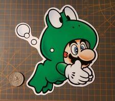 Super Mario Bros Frog Suit Sticker
