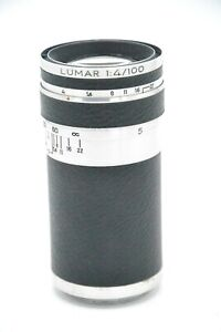 Corfield Lumar F4 100mm Lens