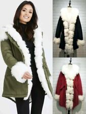 Unbranded Faux Fur Outer Shell Outdoor Coats, Jackets & Waistcoats for Women