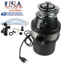 【USA】Household Food Waste Processor & Kitchen Garbage Disposal Crusher 110V