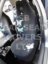 i - SEMI FIT A CITROEN C4 GRAND PICASSO CAR, SEAT CVR, HIGH BACK, BLUE BUTTERFLY