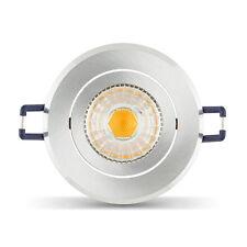 LEDOX LED Set SOLARIS Einbaustrahler 68mm Lochausschnitt GU10 6W 4000k dimmbar