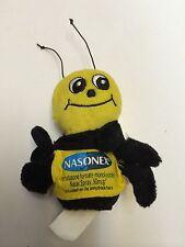 Seltene neue nasonex Nasenspray Drug Rep Hummel Biene Finger Puppet Plüschtier AD