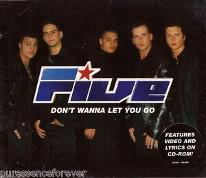 FIVE - Don't Wanna Let You Go (UK  3 Tk Enh CD Single Pt 1)