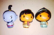 Funko Pint Size Disney Genie Aladdin Jasmine Hot Topic Exclusive Set Of 3