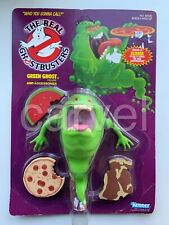 1986 UNPUNCHED CARD Green Ghost SLIMER The Real GHOSTBUSTERS KENNER ActionFigure