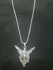Angel Necklace Pendant on Sterling Silver Chain Fairy