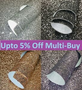 Glitter Wallpaper Border 15cm wide Chunky Grade 3 Black Silver Gold Gunmetal 3D