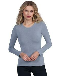 EGI Luxury Modal Women's Long Sleeved T-Shirt. Proudly Made in Italy ( Crew Neck