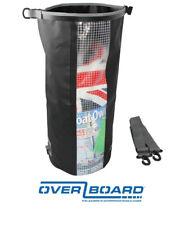 Overboard Impermeabile Dry Tube Bag con finestra – 30 L/30 LITRI-NERO