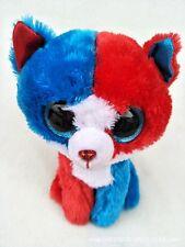 "6"" Cute Three color cat TY Beanie Boos Plush Stuffed Toys Glitter Eyes"