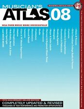2008 Musician's Atlas-The Ultimate Resource for Working Musicians-BOOK-NEW-SALE!