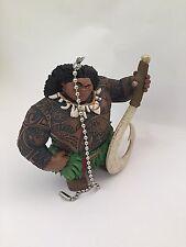"""Disney Moana Maui Demigod Holiday Fan Light Pull PVC Figure 3.5"""" Figurine New"""