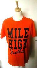 "Denver Broncos ""Mile High Football"" American Football Shirt (Adult Medium)"