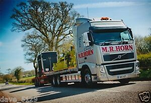 Truck Photo: M. R. Horn Transport - Volvo FH - WA11 AEV - Devon