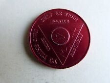 SOBRIETY MEDAL 1 MONTH ALUM LOT 213-H