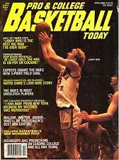 1979-80 Ideal Sports Basketball Today Magazine, Larry Bird, Indiana State