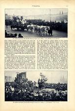 Schiller-Hommage chez FRITSCHI-Déménagement Lucerne 5. Mars images + texte de 1905