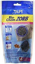 Api Bio-Chem Zorb Size 6 Aquarium Canister Filter Filtration Pouch 1-Count Bag