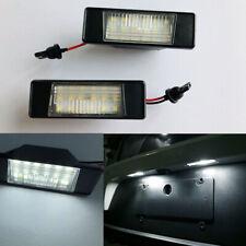 2x White Error Free LED License Plate Light for Nissan Juke NV200 Infiniti Q50