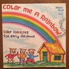 Color Me A Rainbow Vinyl LP Children's Stories