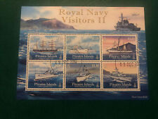 Pitcairn Islands 2010,Fine Used, Excellent Condition, Royal Navy Visitors II M/S