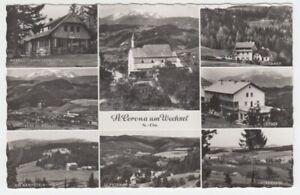 Ansichtskarte Österreich  St. Corona am Wechsel  8 Ansichten