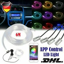 RGB LED Interno Striscia Luce Orlo Auto Ambiente Atmosphere Luce App Control
