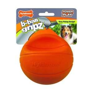 Nylabone Power Play GRIPZ BASKETBALL Dog Toy LARGE
