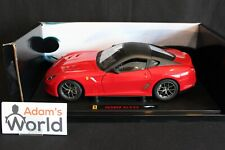 Hot Wheels Elite Ferrari 599 GTO 1:18 red / black (PJBB)
