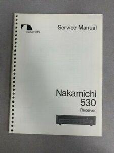 Nakamichi 530 Service Manual