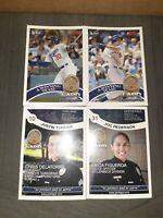 Justin Turner Joc Pederson Los Angeles Dodgers LAPD Topps Baseball Cards MLB Hot