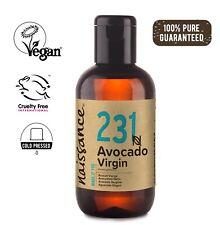 Naissance Avocado Virgin Oil 100ml Moisturising for Skin & Massage