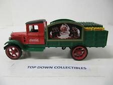 Coca Cola   Die Cast Coin Bank With  Key  ERTL  Red,Green,Black