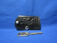 LINCOLN ALL LEATHER KEY HOLDER