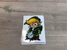 """Link / Legend of Zelda bong sticker  / Decal 3"""" x 4"""""""