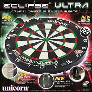 Unicorn - Dart -  Eclipse Ultra - Steel dart board - Dartscheibe - *NEU* - TOP