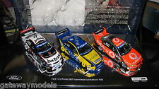 CLASSIC 1/43 2007 BATHURST 1-2-3 FINISH SET WHINCUP LOWNDES COURTNEY JOHNSON