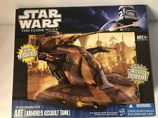 Star Wars The Clone Wars Trade Federation AAT (Armored Assault Tank) New in Box