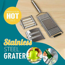 Multi-Purpose Vegetable Slicer Kitchen Cook Tool Stainless Steel Grater
