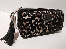 Victoria's Secret Leopard Cosmetic Bag New