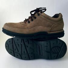 Rockport Mens World Tour Classic Walking Shoes Size 6.5 Brown K71181