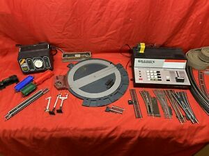 job lot of Hornby Track 00 gauge and turntable,zero 1 Points And Track