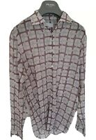 Mens chic PRADA long sleeve shirt size medium. Immaculate....RRP £375