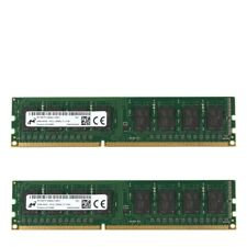 RAM 4GB/8GB/16GB DDR3-1600 PC3L-12800U Micron DIMM desktop memory non-ecc 240pin