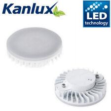 Kanlux Bajo Armario Bombilla LED 7 W 2 Pin GX53 Lámpara Downlight Blanco Luz de día