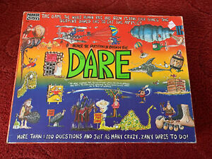 Parker Vintage 1989 Dare Board Game Complete