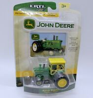 ERTL John Deere 1/64 4010 Tractor  Die Cast 2007 New on Card with collector card